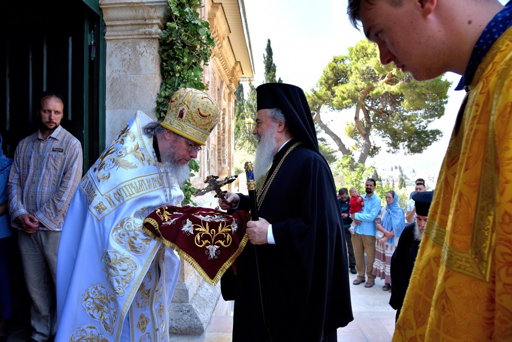 Монастырь равноапостольной Марии Магдалины. Блаженнейший Патриарх Феофил.
