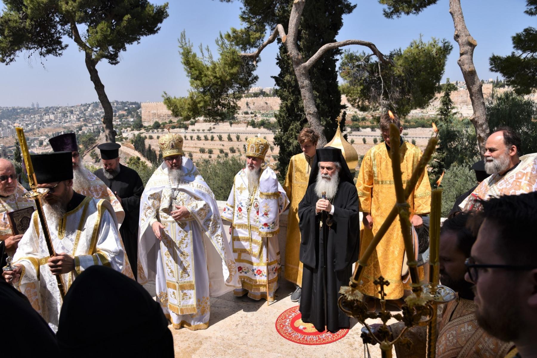 Монастырь равноапостольной Марии Магдалины. Крестный ход.
