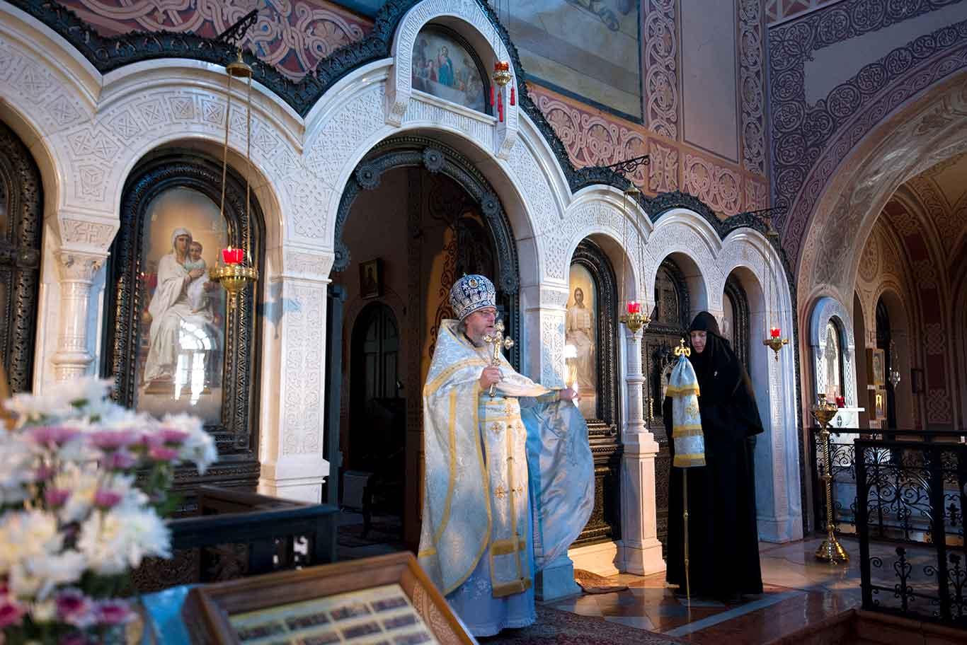 Начальник Русской Духовной Миссии в Иерусалиме РПЦЗ архимандрит Роман (Красовский)