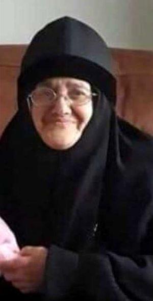 Схимонахиня Христина (Диаб)