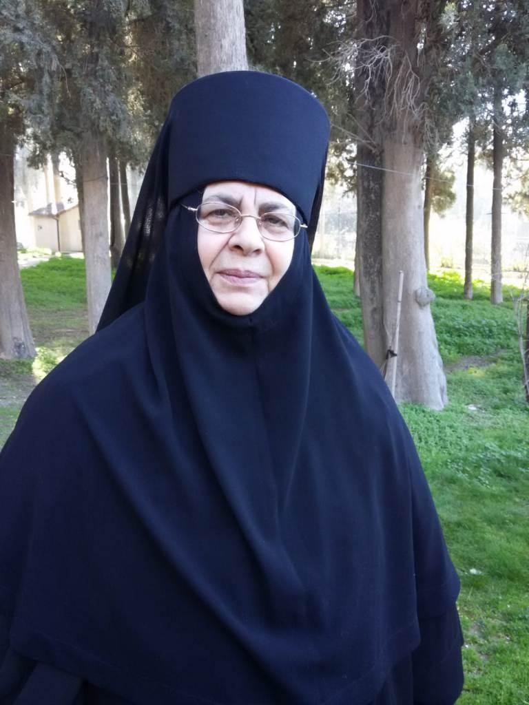 Монахиня Рафаила (в миру Леонида Абу Лель)
