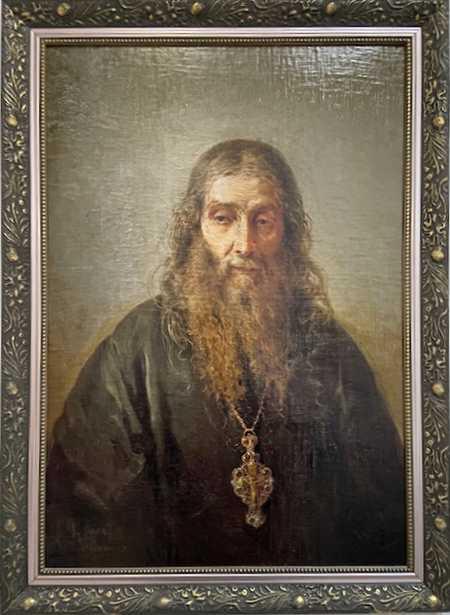 Портрет о. Антонина (Капустина). Н.А. Кошелев. 1891 г.