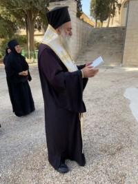 Архиепископ Феодосий в Свято-Вознесенском монастыре